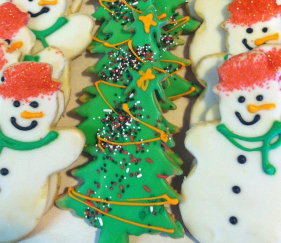 Model Bakery Christmas Cookies