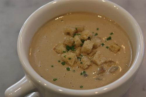Kitchen Door mushroom soup
