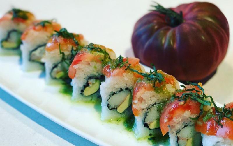 Eiko's tomato roll