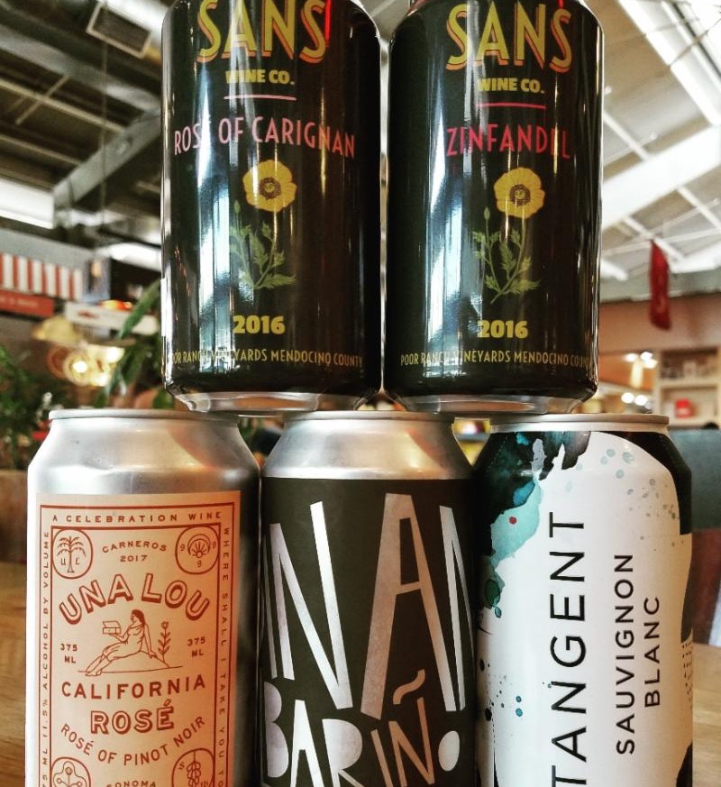 OCWM canned wines