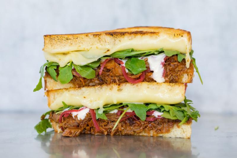 Gott's brisket sandwich