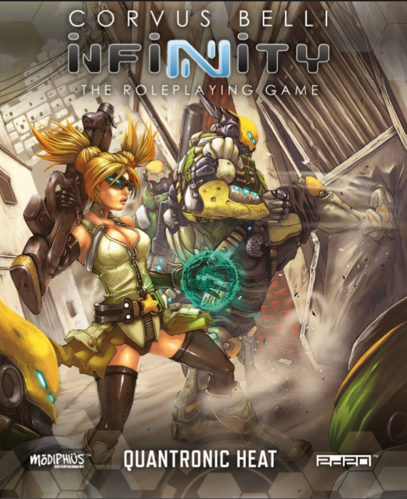 Corvus Belli's Infinity the Roleplaying Game - Available on