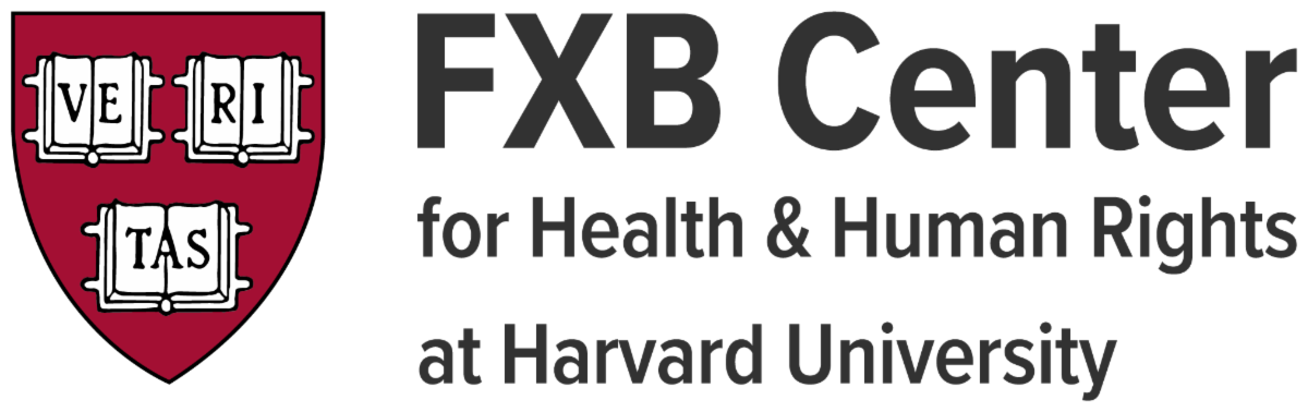 FXB Center for Health and Human RIghts at Harvard University with Harvard Shield