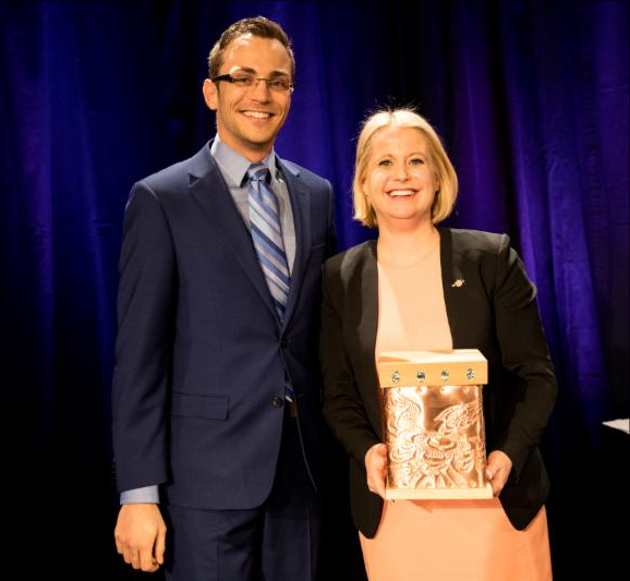 2018 Customer Service award winner Bram