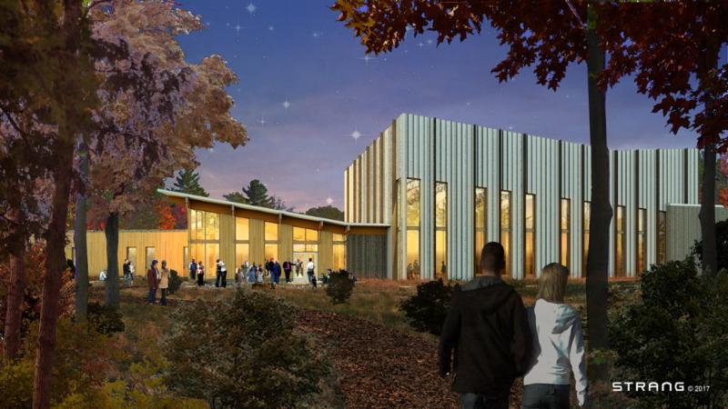 Creative Center Exterior Rendering