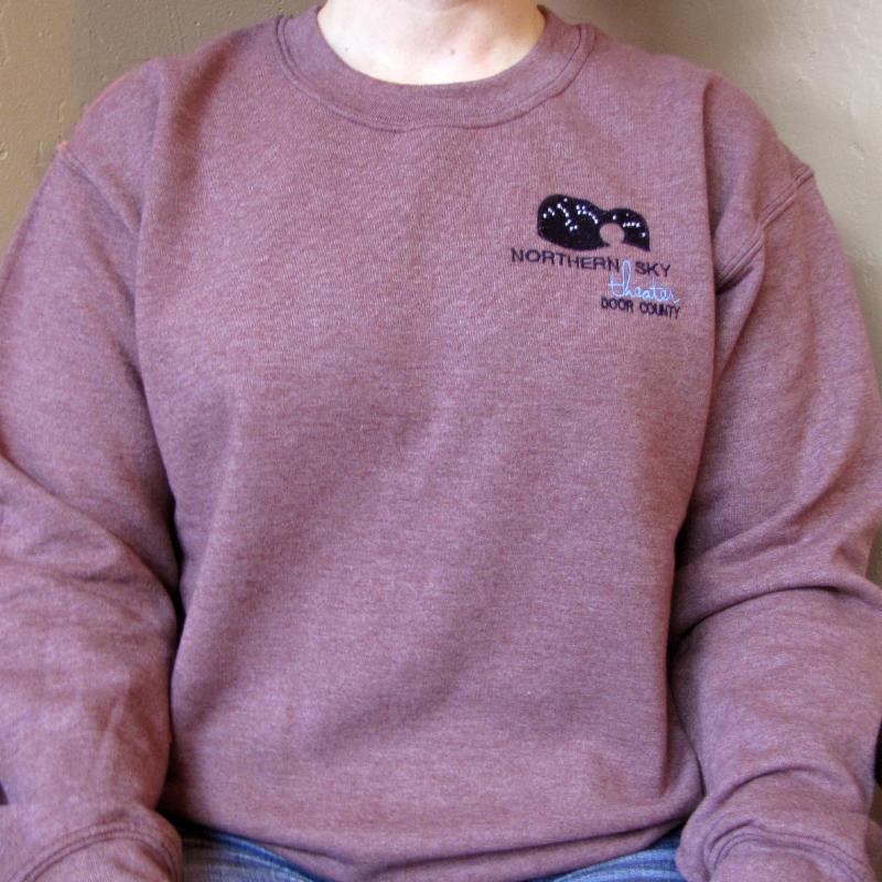 Maroon Northern Sky Sweatshirt