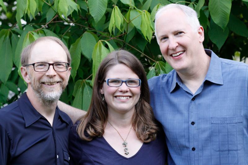 Rich Higdon, Katie Dahl, Eric Lewis