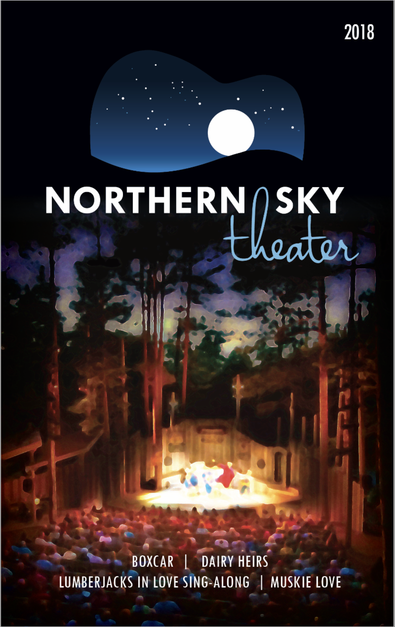 2018 Northern Sky Playbill Cover