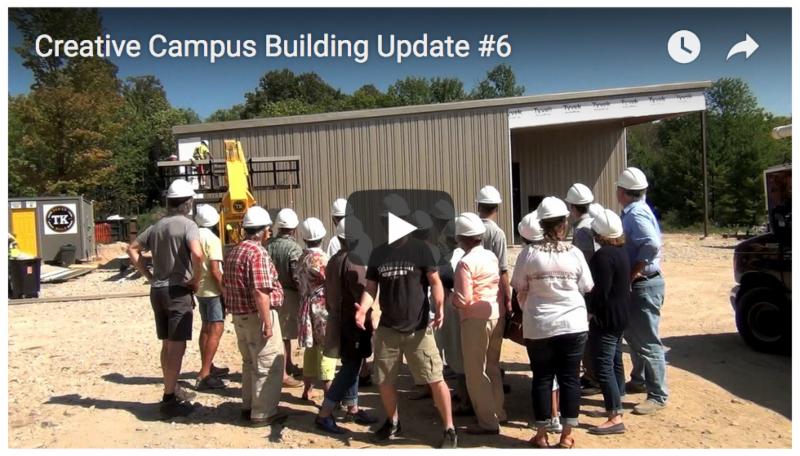 Creative Campus Building Update 6