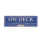 On Deck Clothing Company Logo Circle
