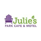 Julie's Park Cafe & Motel Logo Circle