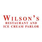 Wilsons Restaurant & Ice Cream Logo Circle