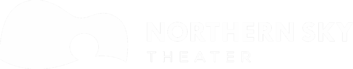 Northern Sky Theater White Logo