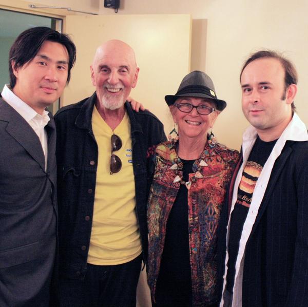 Igudesman and Joo with Jerry and Flora Loeb