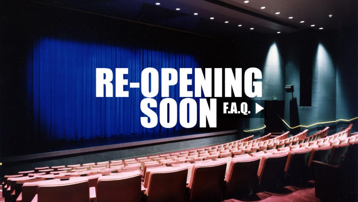 Re-opening soon frequently asked questions