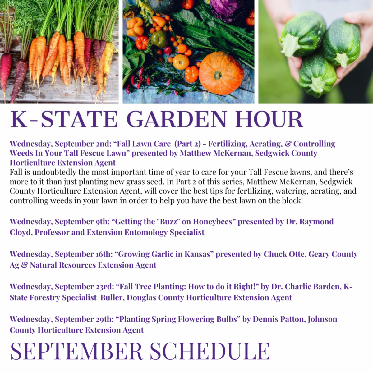 K-State Garden Hour