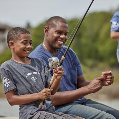fishing cub scouts