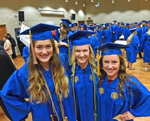Nursing Students at Commencement
