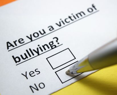Are you a victim of bullying  No.