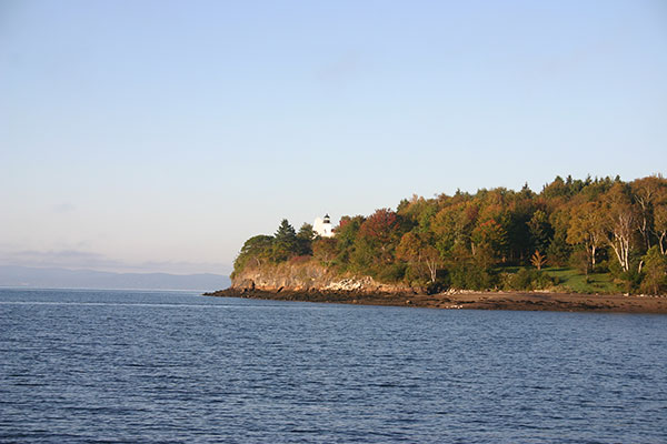 Fort Point Light (Maine) in September