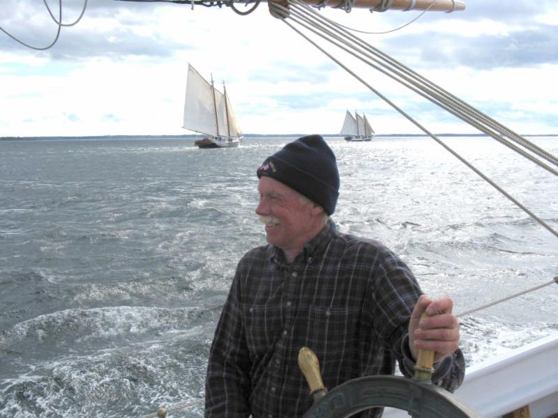 John at the wheel Oct 2010