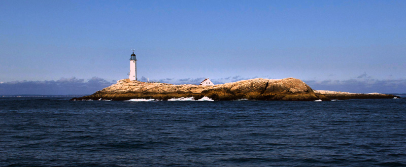 White Island off Star Island by Nola Logan