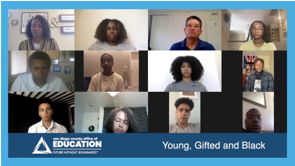 SDCOE Black Student Panel