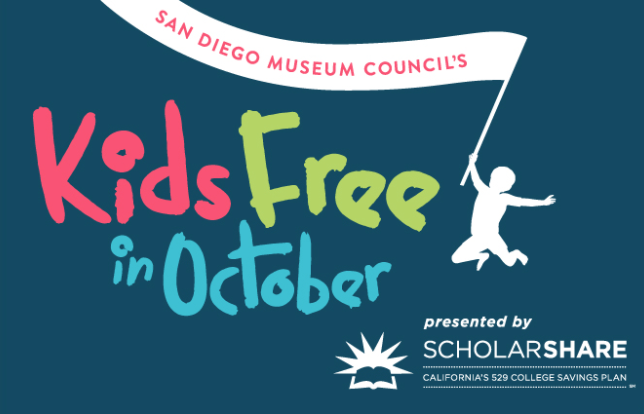 kids free in October 2017 at museums, museum council