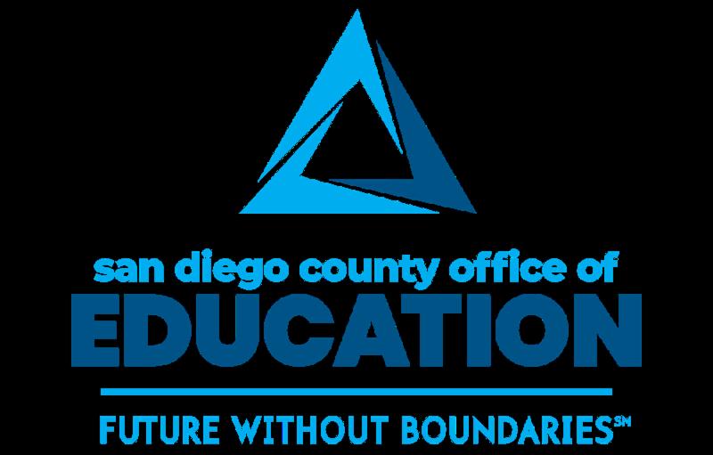 New SDCOE blue logo