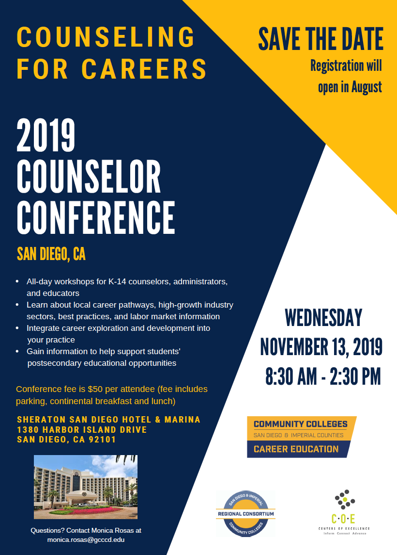 Counselor Career Conference Flyer