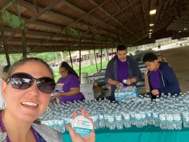 Walk to End Alzheimer's volunteers
