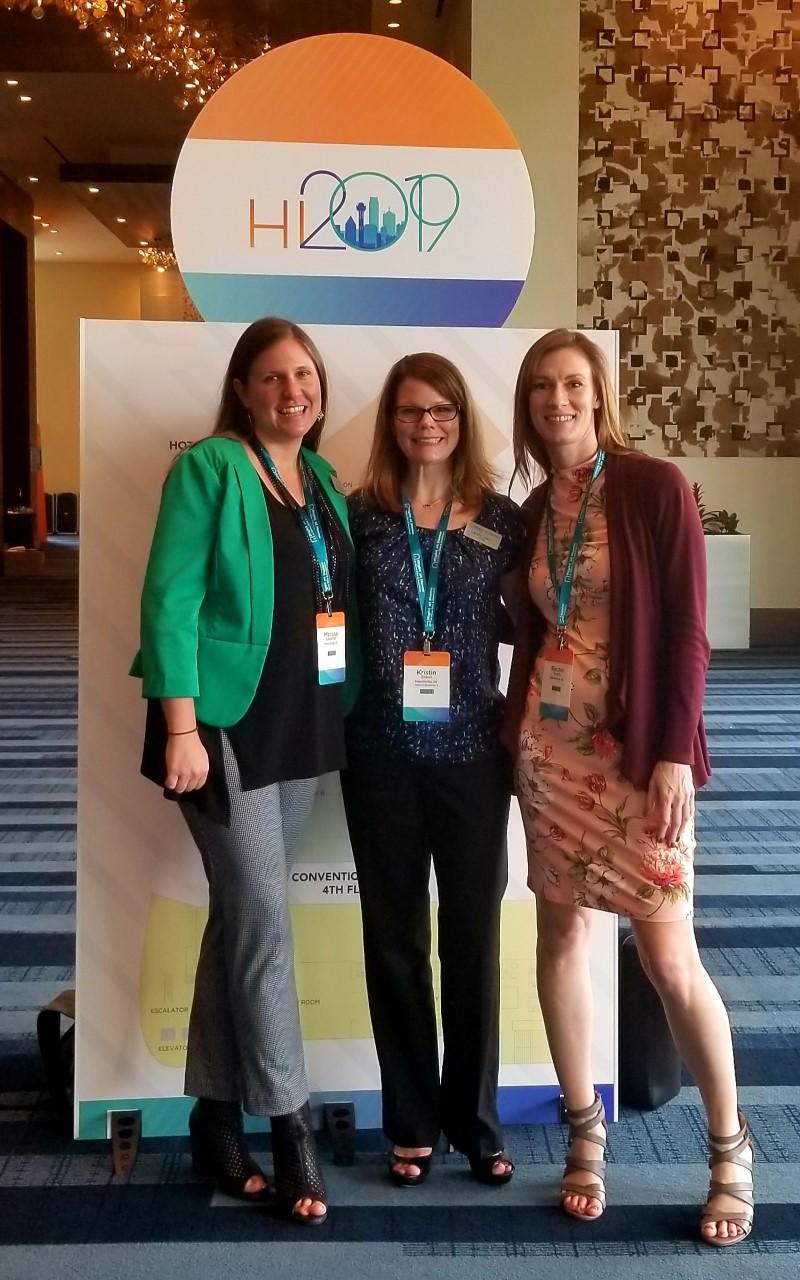 Northwest Indiana was Owner, Kristin Sokol, Community Relations Manager, Melissa DeSutter, and HR Supervisor, Rachel Smith
