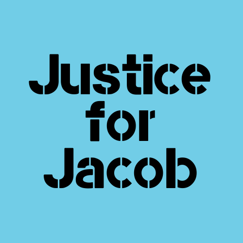 Justice for Jacob Blake graphic