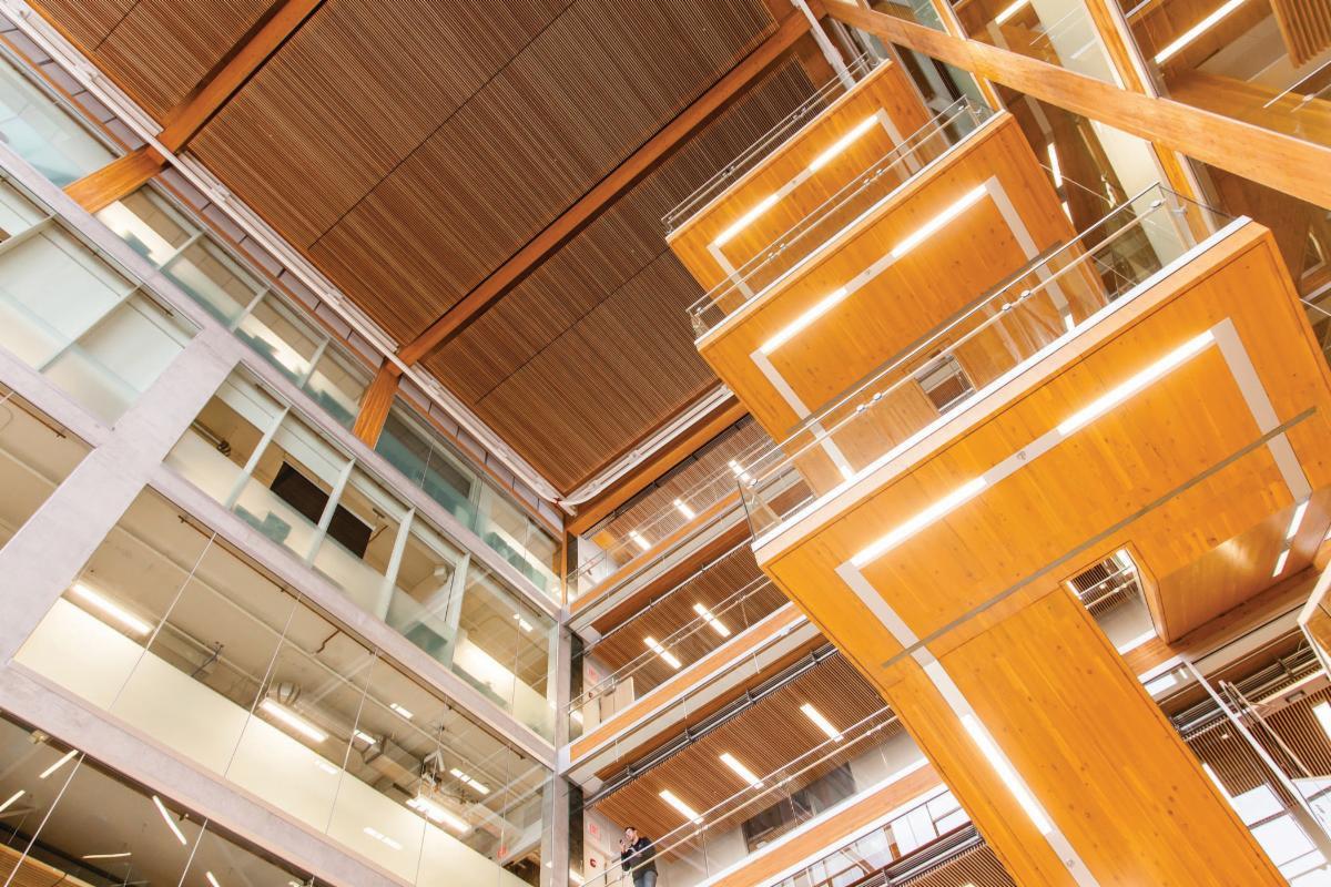 UBC STAIRS - PHOTO CREDIT MICHAEL ELKAN PHOTOGRAPHY