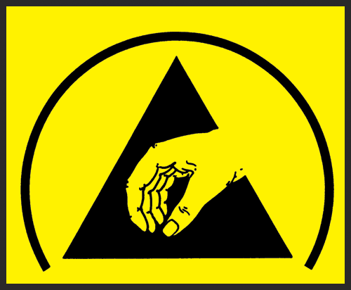 ESD Protective Symbol