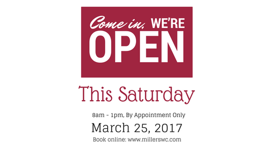 Open Saturday