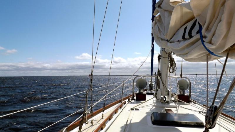 Ava Grace sailing sailing photo