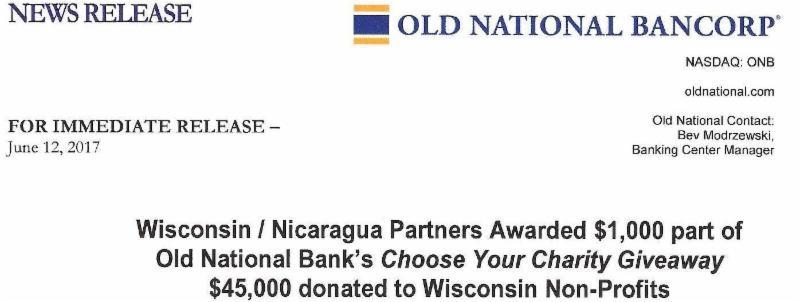 wisconsin nicaragua partners