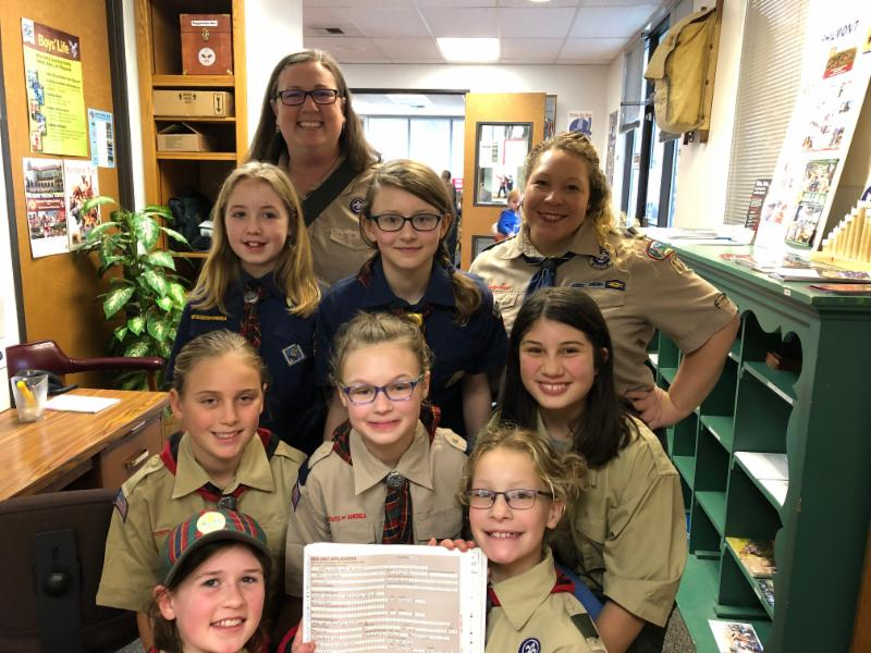 Troop 189 at Charter Turn-in