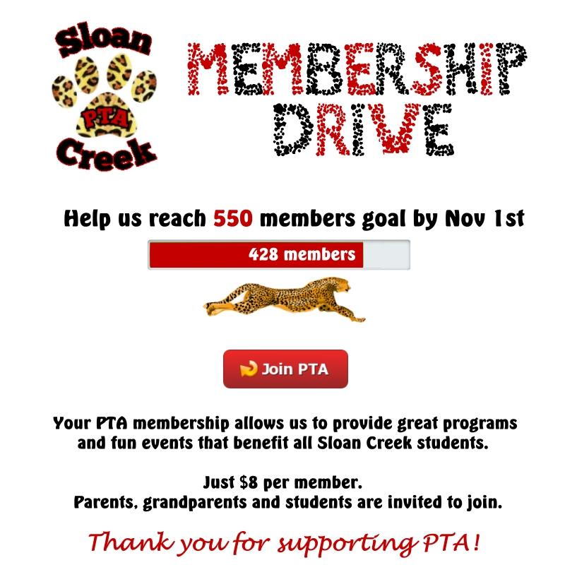 SCIS PTA Membership