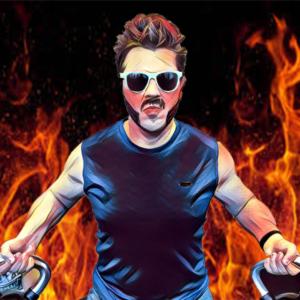 A stylized photo of Jason O'Kelley.