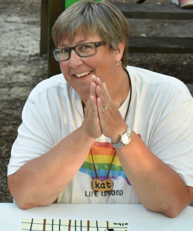 Camp Kudzu Director of Programs Kat Shreve