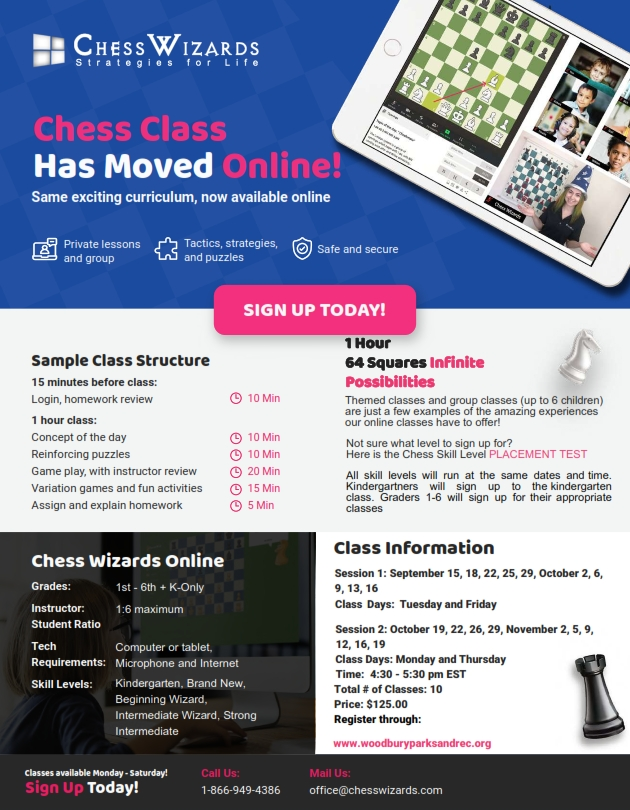 chess virtual fall 2020