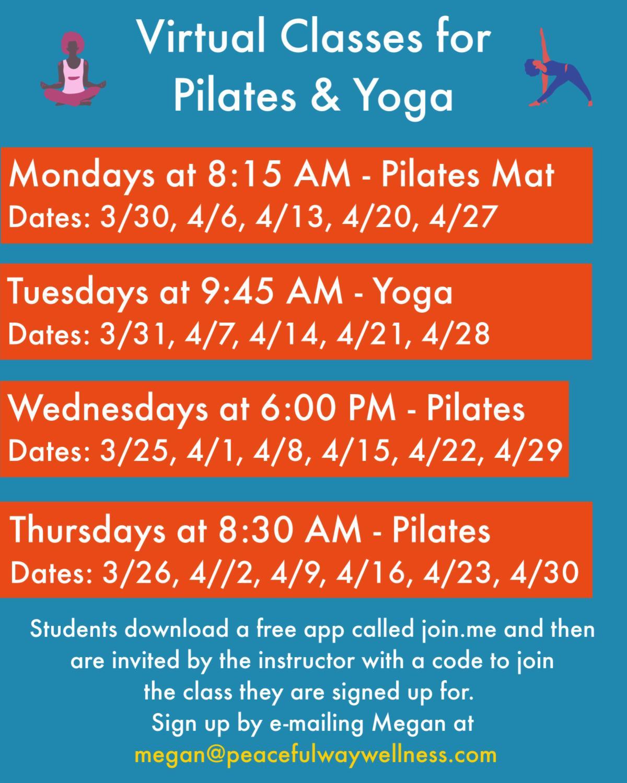 Virtual Yoga Pilates