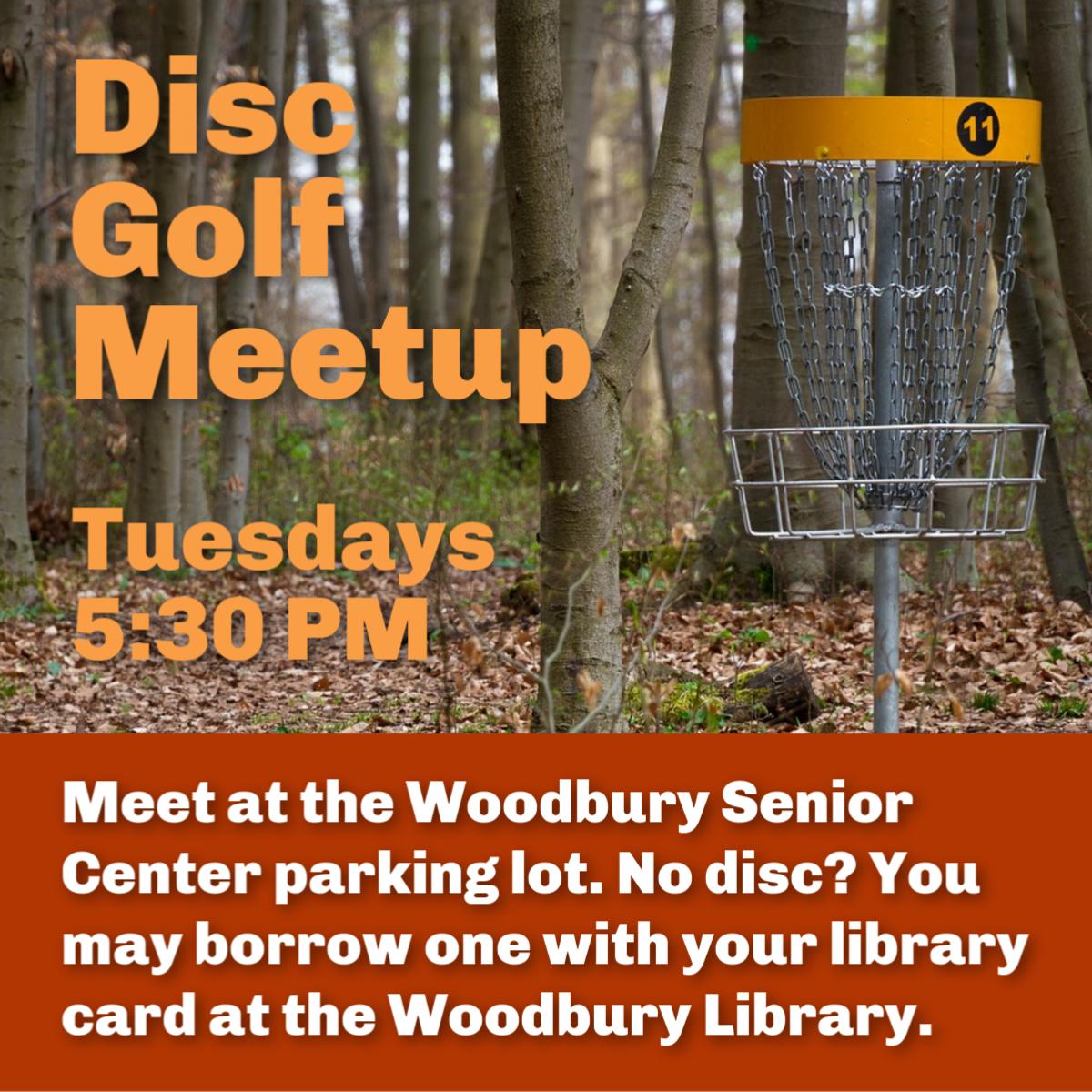 Disc Golf Meetup