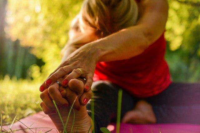 outside yoga pilates