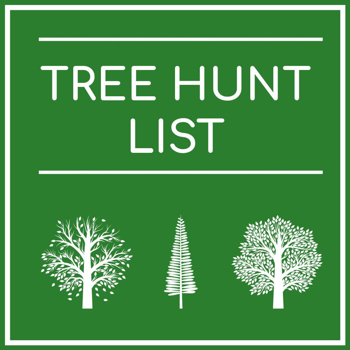 Tree Hunt List