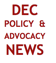 DEC Policy & Advocacy News