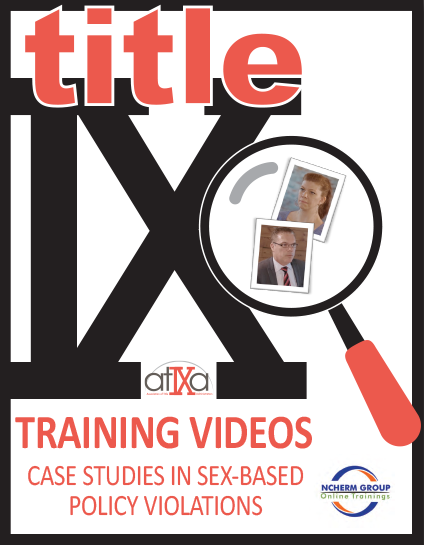 Title IX Training Videos cover