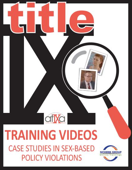 Title IX Training Videos cover